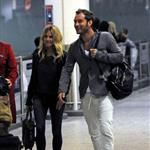 Sienna Miller Jude Law return to London from holiday in Kenya  76136