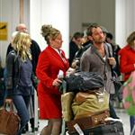 Sienna Miller Jude Law return to London from holiday in Kenya  76142
