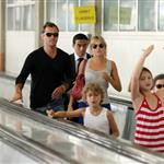 Jude Law and Sienna Miller in Paris with his kids June 2010  63072