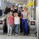Jude Law and Sienna Miller in Paris with his kids June 2010  63079