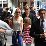 Jude Law and Sienna Miller in Paris with his kids June 2010  63081