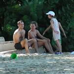 Sienna Miller on holiday with Jude Law and his kids in Barbados 52640
