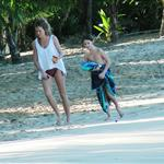 Sienna Miller on holiday with Jude Law and his kids in Barbados 52645
