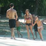 Sienna Miller on holiday with Jude Law and his kids in Barbados 52648