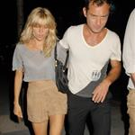 Sienna Miller Jude Law go for kebabs  64262
