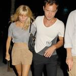 Sienna Miller Jude Law go for kebabs  64268