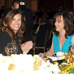 Sally Field and Julia Roberts attend the 40th AFI Life Achievement Award honoring Shirley MacLaine 116923