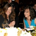Sally Field and Julia Roberts attend the 40th AFI Life Achievement Award honoring Shirley MacLaine 116924