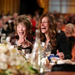Honoree Shirley MacLaine and actress Julia Roberts attend the 40th AFI Life Achievement Award honoring Shirley MacLaine 116926