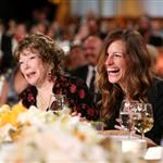 Honoree Shirley MacLaine and actress Julia Roberts attend the 40th AFI Life Achievement Award honoring Shirley MacLaine 116929