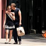 Julia Stiles and new boyfriend David Harbour get affectionate in Manhattan  90220