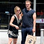 Julia Stiles and new boyfriend David Harbour get affectionate in Manhattan  90225