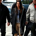 Mila Kunis on the set of Ted May 2011 85966