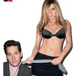 Paul Rudd and Jennifer Aniston cover GQ Magazine 106089