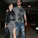 Justin Timberlake and Jessica Biel leave the Hollywood Bowl  42874