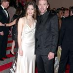Jessica Biel and Justin Timberlake at the Met Gala, 2010 113436