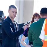 Justin Timberlake on set with Amanda Seyfried 72649