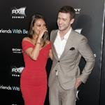 Justin Timberlake Mila Kunis at the New York premiere of Friends with Benefits 90202