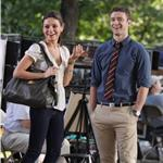 Justin Timberlake and Mila Kunis shoot Friends With Benefits outside in New York July 2010  65485