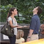 Justin Timberlake and Mila Kunis shoot Friends With Benefits outside in New York July 2010  65489