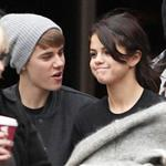 Justin Bieber and Selena Gomez go on a private tour in London 98012