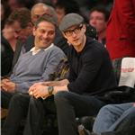 Justin Timberlake at Lakers game  72513