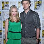 Justin Timberlake and Amanda Seyfried promote In Time at Comic-Con 90504