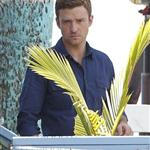 Justin Timberlake on the set of Runner, Runner in Puerto Rico 118708