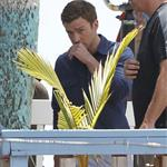 Justin Timberlake on the set of Runner, Runner in Puerto Rico 118709
