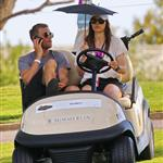 Jessica Biel watches Justin Timberlake play golf at his tournament in Vegas 2011  95287