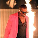Kanye West performs in Singapore  66553