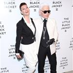 Linda Evangelista and Karl Lagerfeld at Chanel's The Little Black Jacket Event 116822