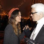 Rachel Bilson attends a dinner in the honor of Karl Lagerfeld in Paris 84935