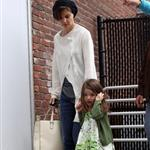 Katie Holmes and Suri at the museum the other day 48699