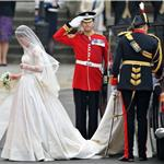 Catherine Middleton arrives for the Royal Wedding  84071