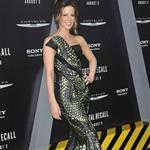 Kate Beckinsale at the Los Angeles premiere of Total Recall 122284