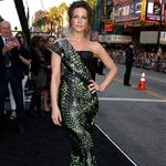 Kate Beckinsale at the Los Angeles premiere of Total Recall 122287