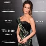 Kate Beckinsale at the Los Angeles premiere of Total Recall 122290