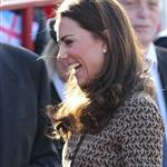 Catherine, Duchess of Cambridge arrives at Rose Hill School Oxford, England 106624