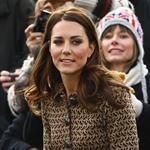Catherine, Duchess of Cambridge arrives at Rose Hill School Oxford, England 106634