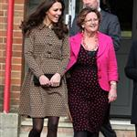 Catherine, Duchess of Cambridge arrives at Rose Hill School Oxford, England 106637
