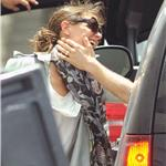 Katie Holmes says goodbye to Tom Cruise and friends after celebrating his 49th birthday in Miami  89144