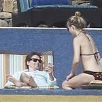 Kate Hudson in bikini with Matt Bellamy in Mexico during Super Bowl  104929