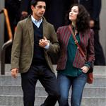 Kate Hudson shoots The Reluctant Fundamentalist in New York with Riz Ahmed 96122