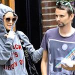 Kate Hudson and Matt Bellamy stroll around New York City 121448