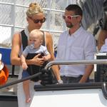 Kate Hudson on holiday with Matt Bellamy, baby Bing and Philip Green in the French Riviera  118477