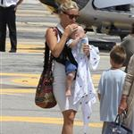 Kate Hudson on holiday with Matt Bellamy, baby Bing and Philip Green in the French Riviera  118489