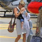 Kate Hudson on holiday with Matt Bellamy, baby Bing and Philip Green in the French Riviera  118490