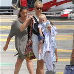 Kate Hudson on holiday with Matt Bellamy, baby Bing and Philip Green in the French Riviera  118491