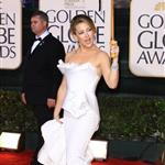 Kate Hudson in white Marchesa at Golden Globes 2010 like Nicole Kidman Chanel Oscars 2004 53571